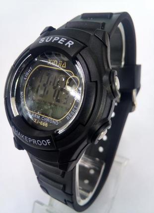 Детские,мужские влагозащищенные электронные часы xinjia xj666