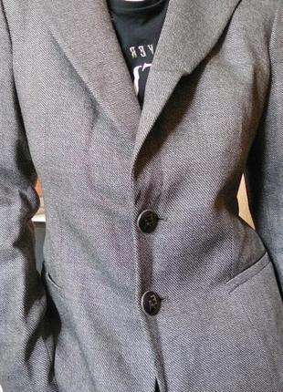 Пиджак жакет emporio armani шерсть кашемир