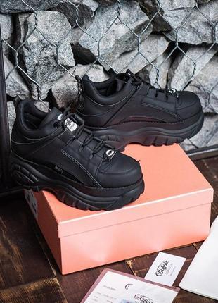 Buffalo london black женские кроссовки наложенный платёж купить