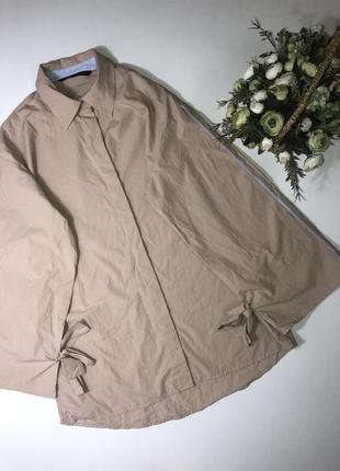 Рубашка zara размер м состав новой