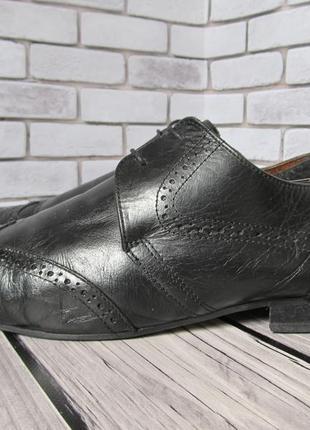 Кожаные туфли броги river island