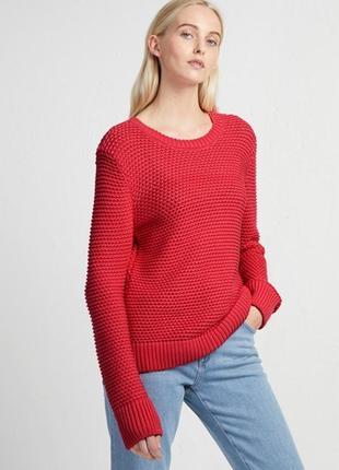 Вязаный джемпер с круглым вырезом вязаный свитер объемный свитер