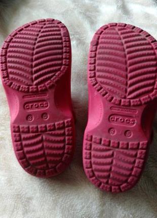 Кроксы crocs оригинал j3-5