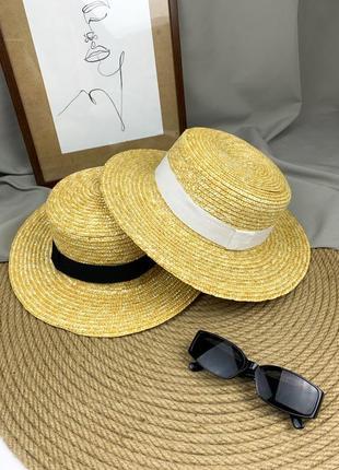 Новий солом'яний капелюшок