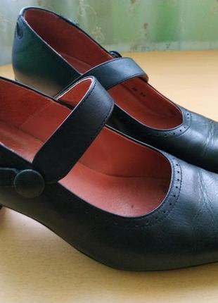 Туфли, туфельки шкіряні 39розмір