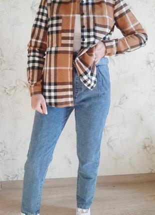 Рубашка в клетку, рубашка куртка в клетку, рубашка по типу zara