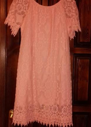 Платье гиппюровое