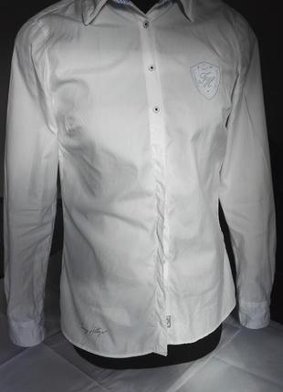 Хлопковая рубашка, батник tommy hilfiger