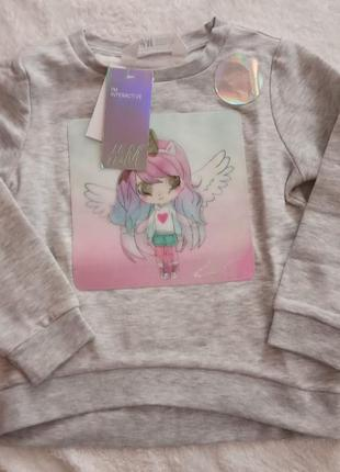 H&m интерактивная кофта свитер 98/104