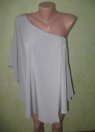Шикарная блузка на одно плече