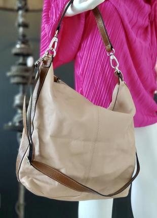 Marks&spncer. крупная сумка из натуральной кожи.