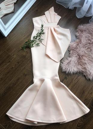 Красивое платье рыбка