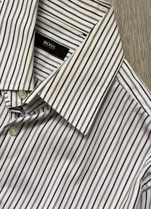Винтажная рубашка hugo boss оригинал
