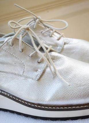 Кожаные мокасины слипоны лоферы туфли италия zign р.42 27,2 см