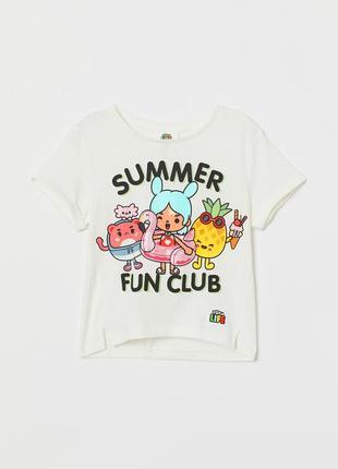 Стильная футболочка h&m англия