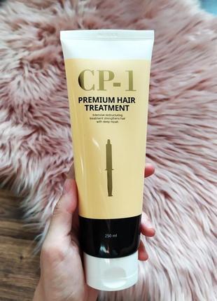 Лечащая маска корея cp-1 estetic house premium hair treatment