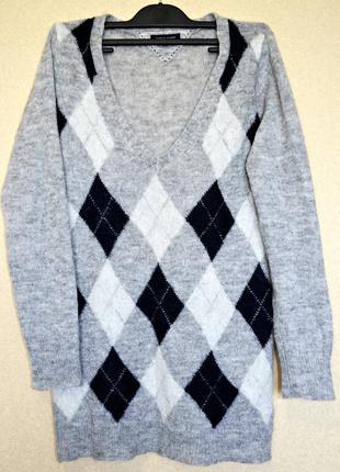 Шикарный пуловер бренда tommy hilfiger оригинал