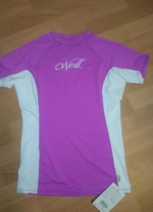 Гидро футболка с upf 50