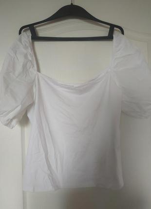 Новая белая футболка/ блуза