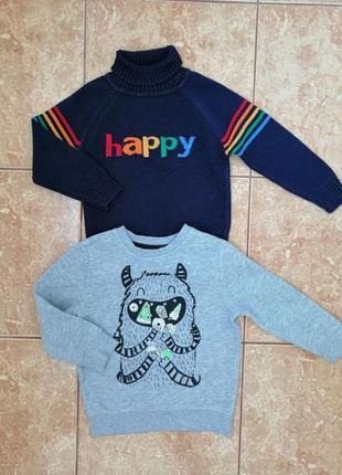 Стильный набор: красивый свитшот толстовка свитер теппый гольф водолазка