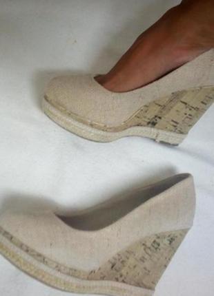 Туфли на платформе new look
