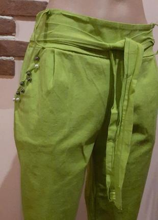 Хлопковые штаны стрейчевые джогеры брюки распродажа