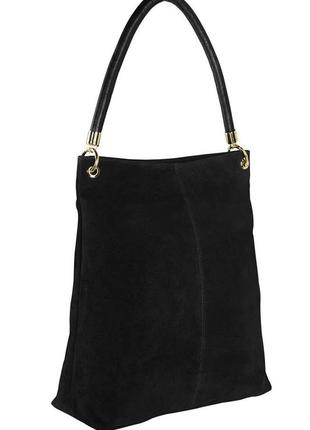 Большая кожаная сумка ( натуральная замша) шоппер esmara германия