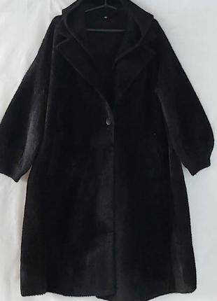 Пальто с альпаки, люкс качество 💖 размер универсальный.