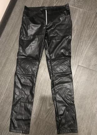 Штаны - лосины с карманами