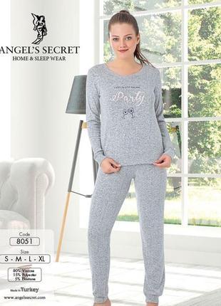 Пижама теплая женская angel's secret