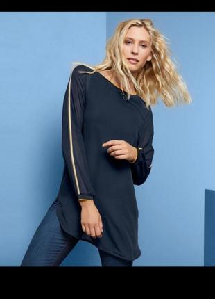 Удлинённая рубашка, блуза