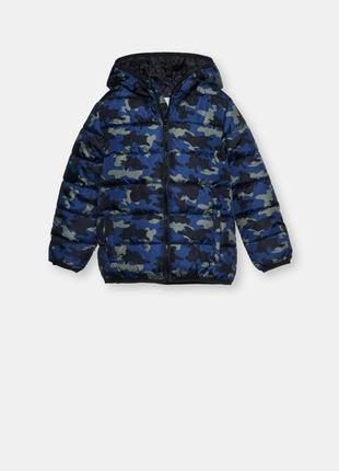Демисезонная куртка милитари ultralight синий камуфляж fox&banny польша