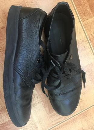 Спортивные кожаные туфли