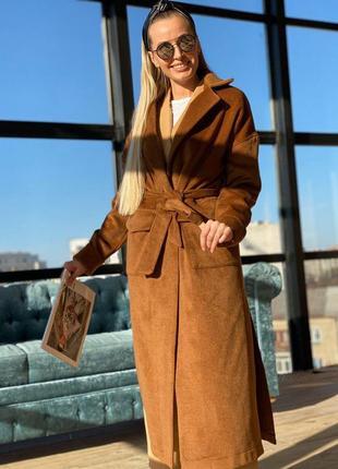 1775.     легкое пальто без подкладки цвета корицы
