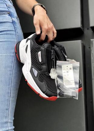 Кроссовки adidas falcon zip {ef3644} оригінал! кросівки