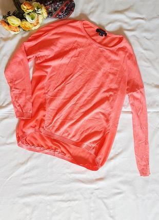 Свитшот блуза реглан лонгслив яркого вкусного цвета