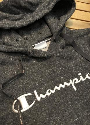 Худи кофта бобка толстовка с капюшоном чемпион champion3 фото