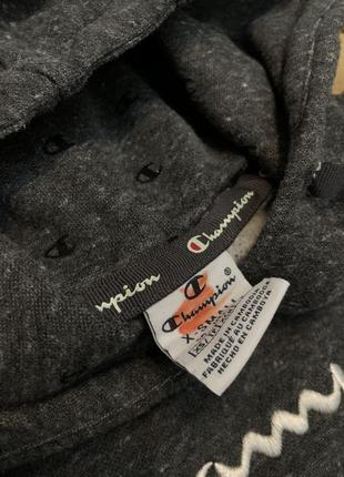 Худи кофта бобка толстовка с капюшоном чемпион champion5 фото