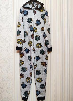 Кигуруми гарри поттер 13-14 лет хогвартс гриффиндор пижама слип комбинезон