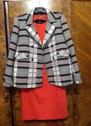 Стильный пиджак / пальто zara