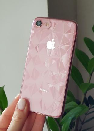 Прозрачный силиконовый чехол на iphone 6/7/8/7plus/8plus/xs max2 фото