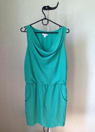 Платье jones new york насыщенного зеленого цвета