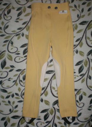Штани для кінного спорту на 5-6 років