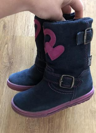 Зимние ботинки с мембраной mido noster,ботинки для девочки