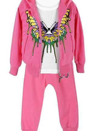 Спортивный костюм 3-ка для девочки