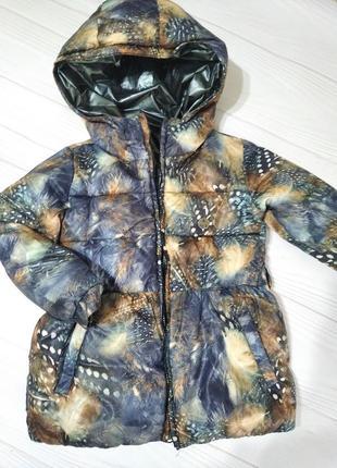 Классная двусторонняя деми курточка для девочки