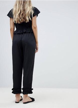 Нереально крутые и стильные базовые чёрные штаны брюки 😍😍😍