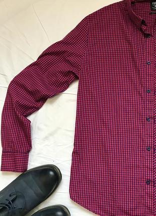 Рубашка в клетку сорочка в клітинку  тениска