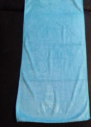 Полотенце париж 75 х 35 см из микрофибры