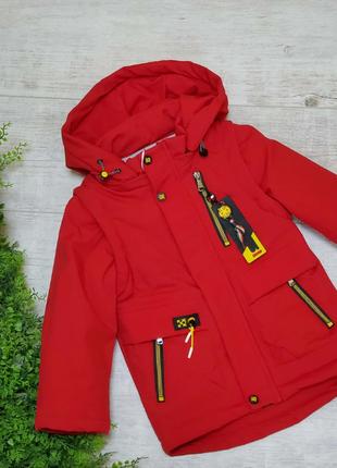 Р. 92-116 куртка-жилетка. стильная, удобная, качественная